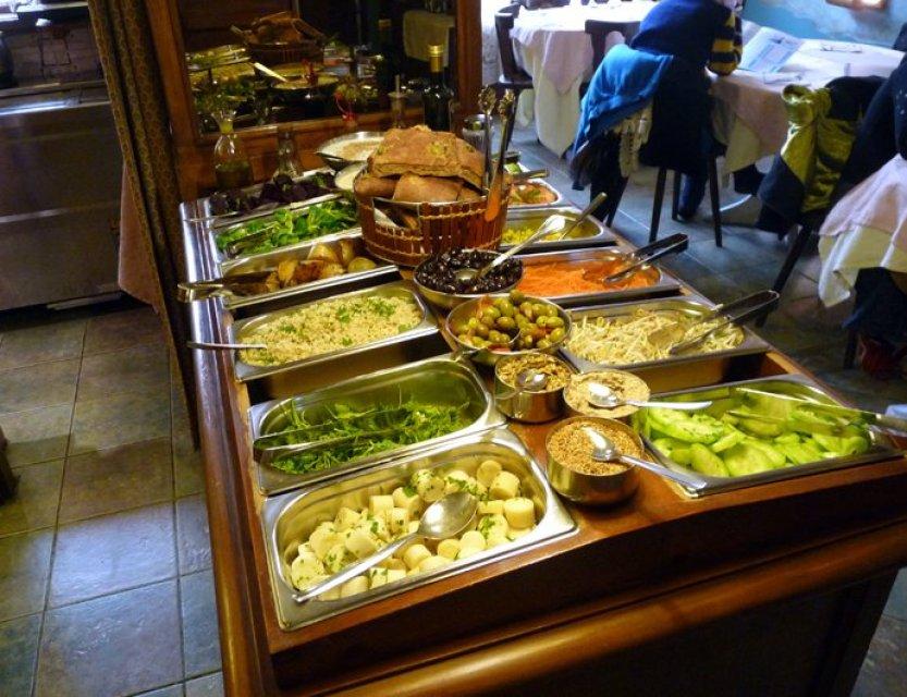 Restaurante hindu vegetariano Govinda in Barcelona