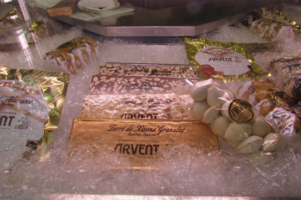 Best Turron in Barcelona at Sirvent Carrer Parlament