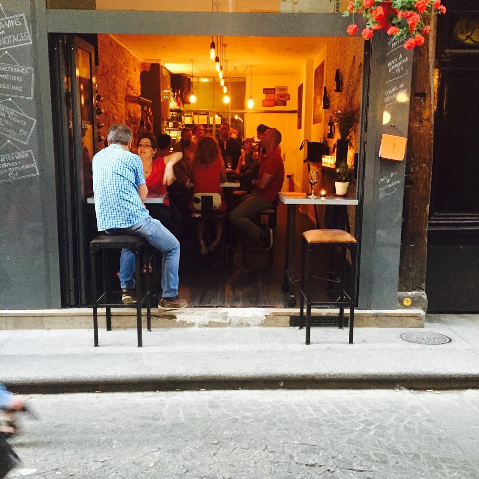 Redd wine bar, Paris