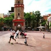 Plaça de la Vila de Gracia in Barcelona