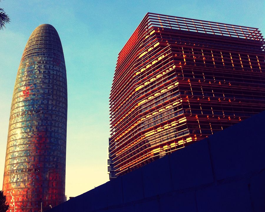 Modern architecture in Poblenou