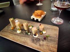 Fine dining dishes at NaparBier Barcelona