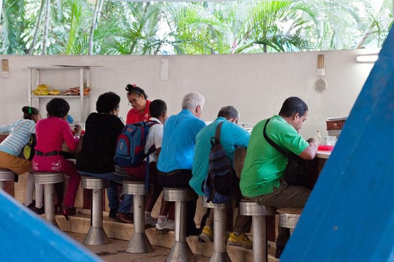 Coppelia ~ Fidel Castro's ice cream parlour in Cuba