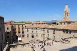 The sweeping views of Girona city, Catalunya