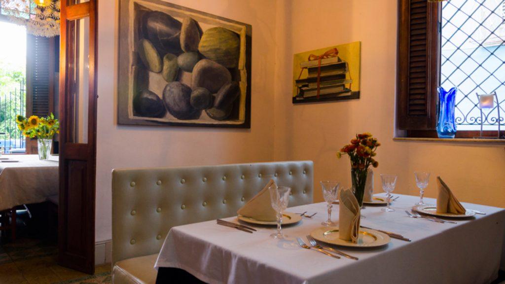 Le Chansonnier French Restaurant Havana, Cuba