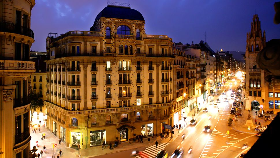 Ohla-Hotel luxury boutique 5-star stay in Barcelona city centre