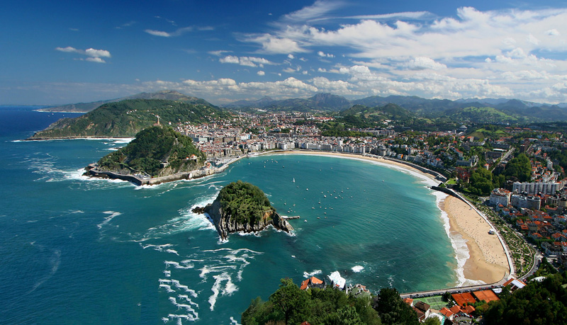 san-sebastian Northern Spain - Surf and Great Food