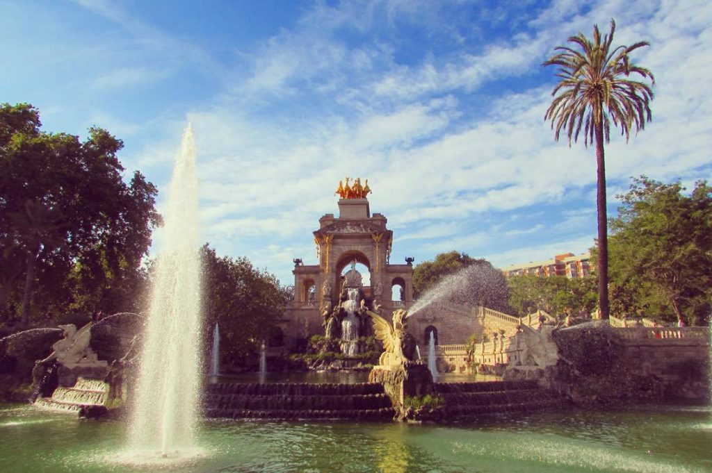 The famous fountain in Parc de la Ciutadella. Some say Gaudi had a part to play in tis creation, though it's clearly too classic for him to have been fully involved.