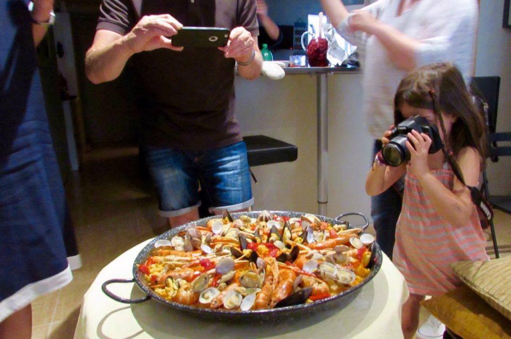 Homemade Paella in Barcelona