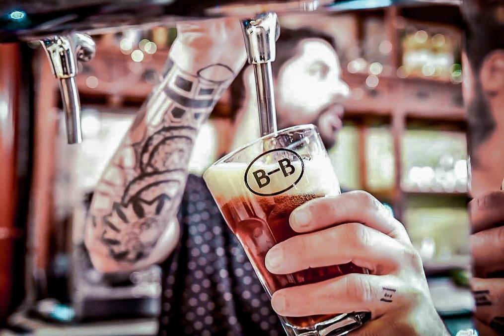 Barna Brew Craft Beer Bar in Sant Antoni Barcelona