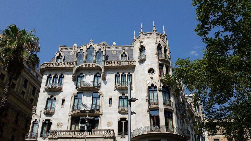 Hotel Casa Fuster - Modernista building hotel in Barcelona