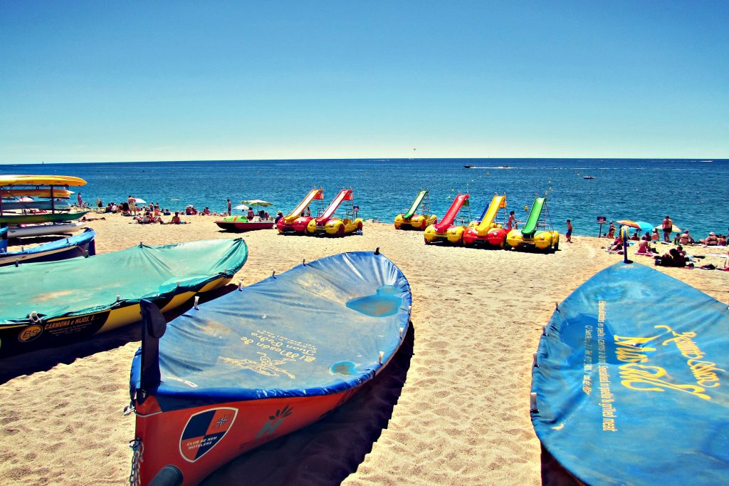 Lloret de Mar beach, Costa Brava