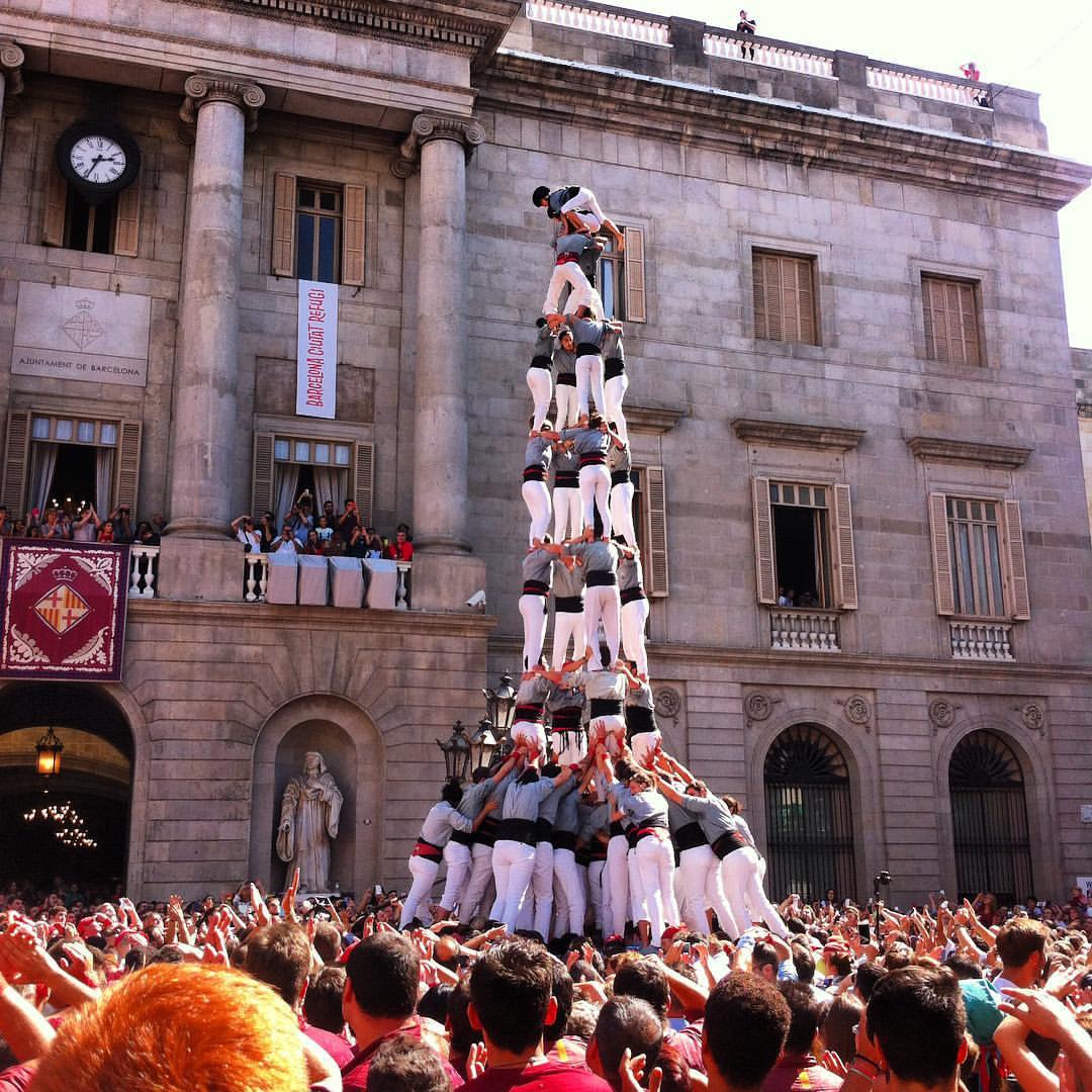 The highest of highs - Sant Jordi Festival Barcelona