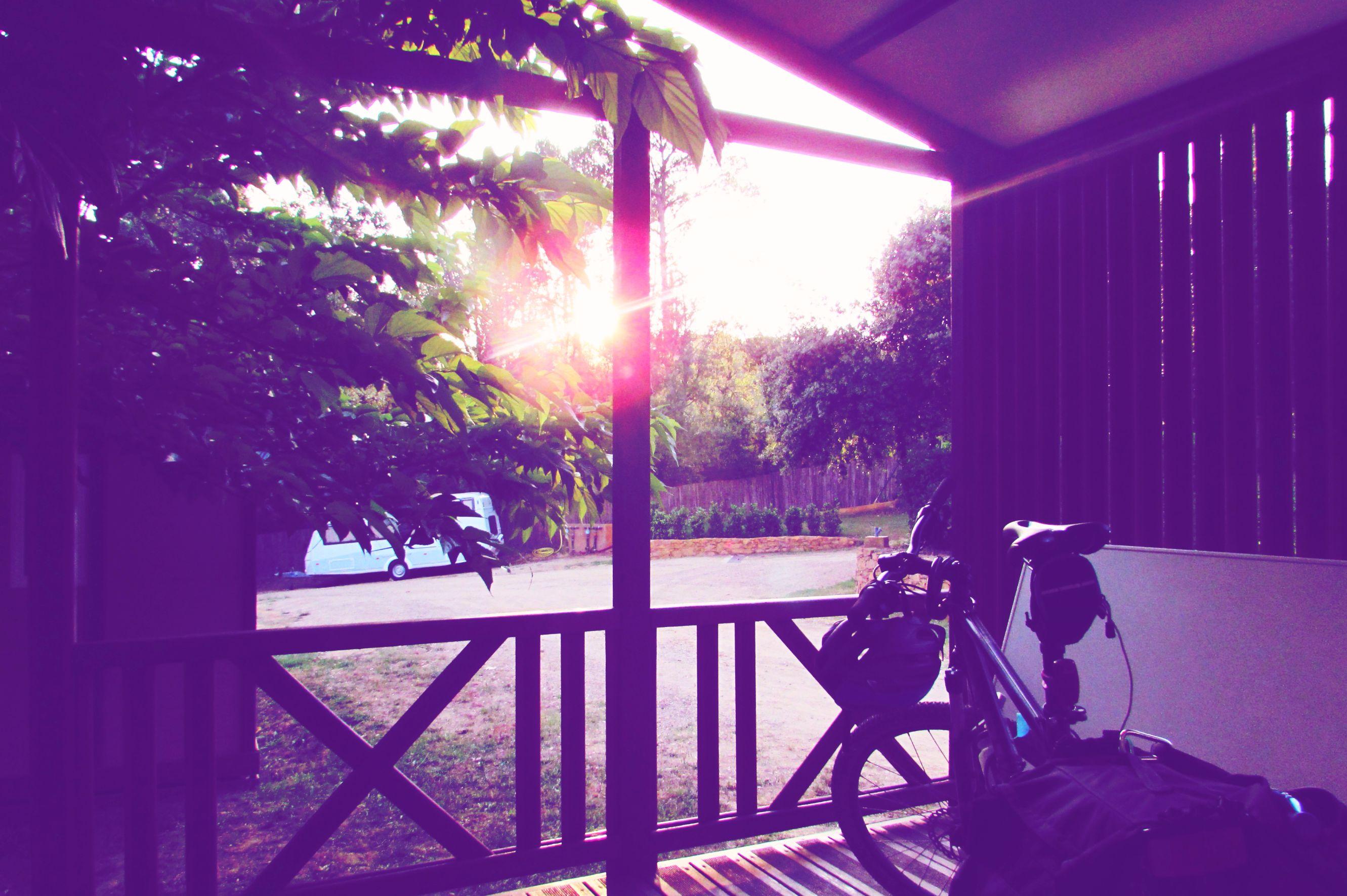 Sunset at Begur Campsite, Costa Brava