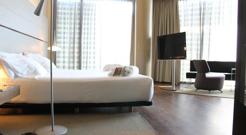 Bedrooms in B-Hotel 3-Star Design hotel in Barcelona