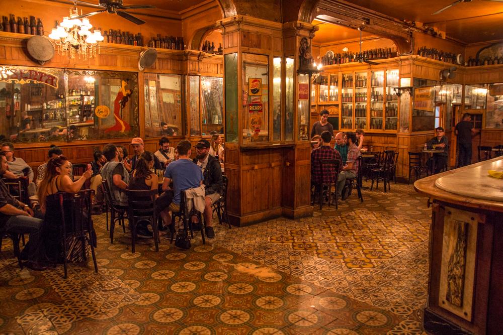 Marsella Absinthe Bar in Raval Barcelona - Barcelona's oldest bar