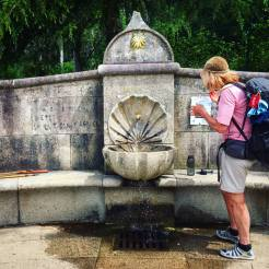 Where to get water from on the Camino de Santiago