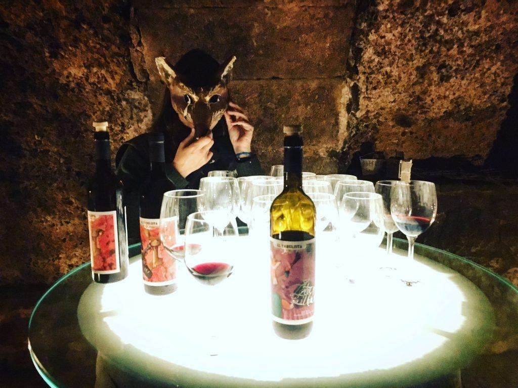 Wine tasting at Bodega Fabulista in Laguardia