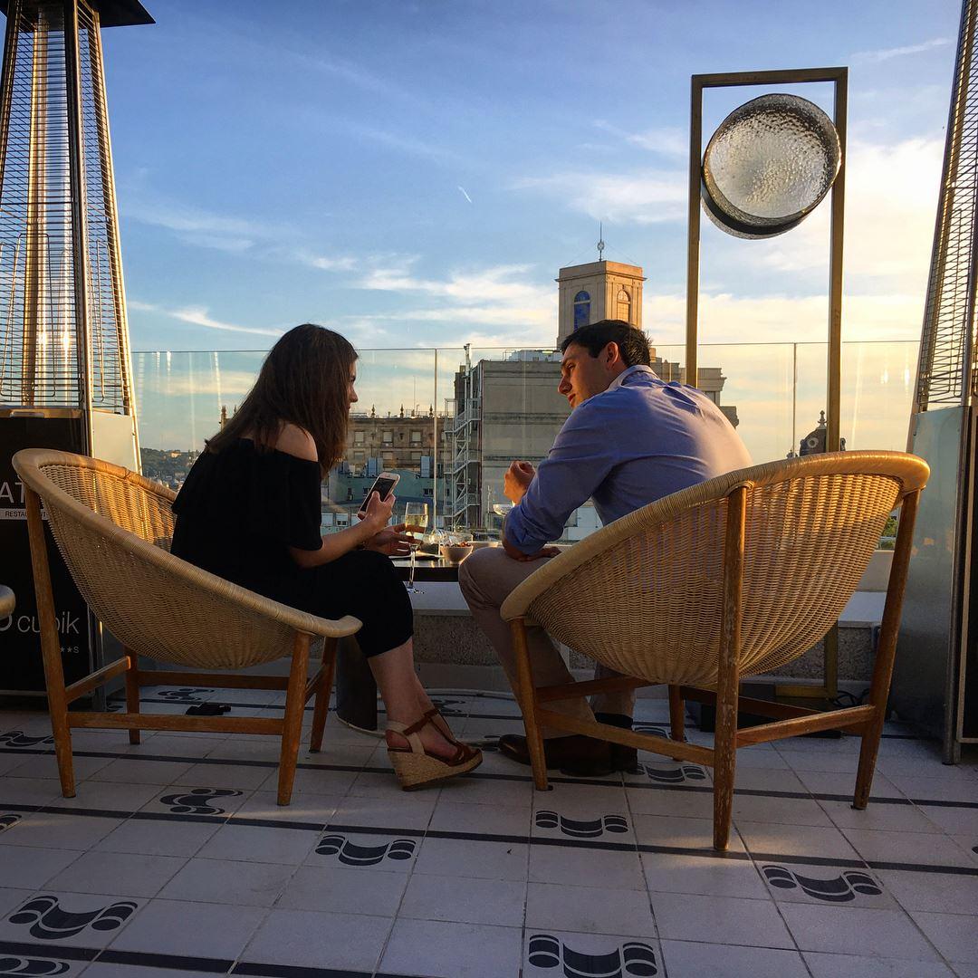 H10 Cubik Hotel Barcelona atik tapas bar