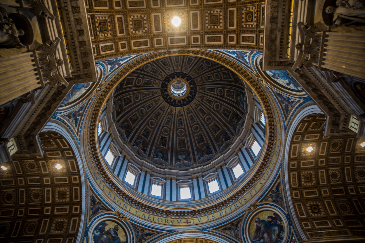St. Peter's Basilica main dome