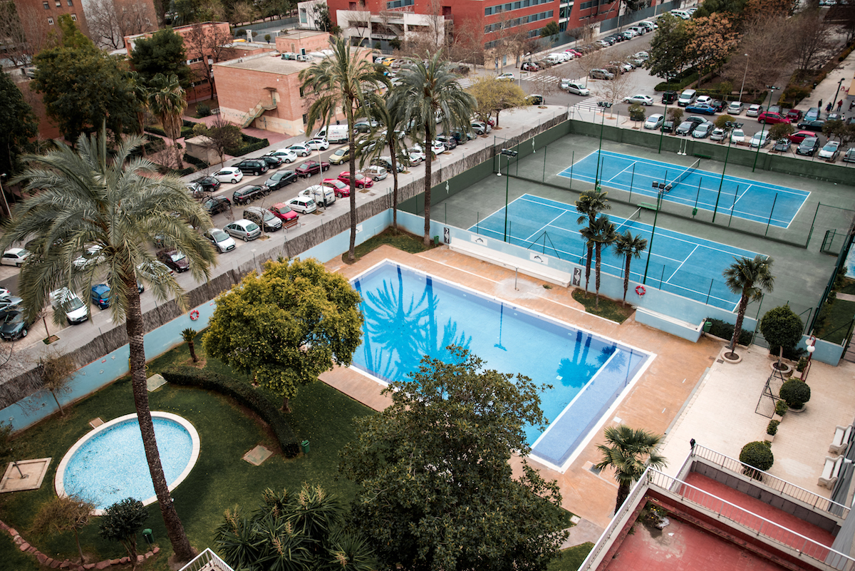 Medium Hotel Valencia Swimming Pool - Ben Holbrook