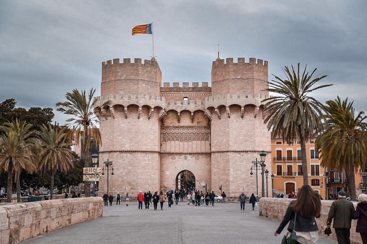 Torres de Quart, Valencia - by Ben Holbrook