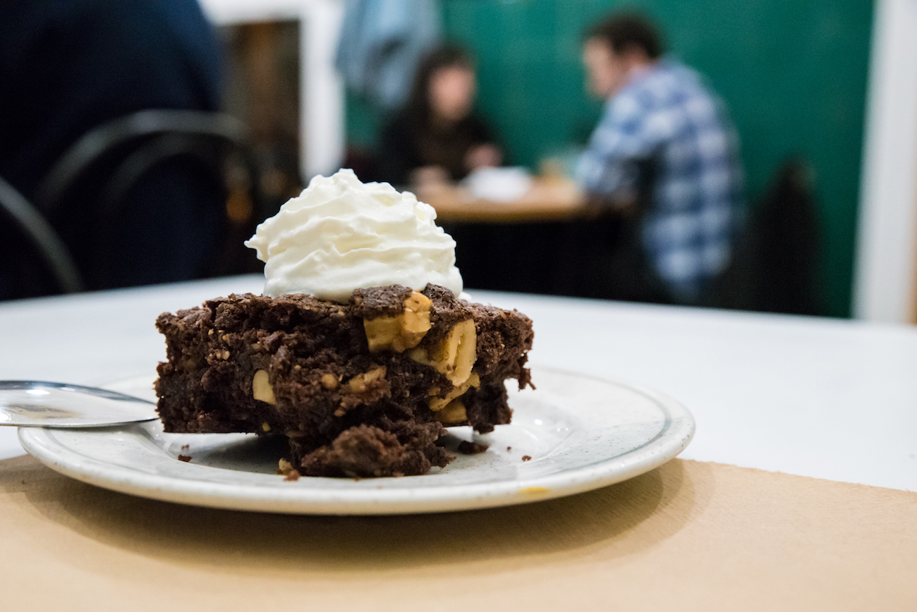 The Pie Shoppe Barcelona, A brownie sensation. Perfect with a porter.