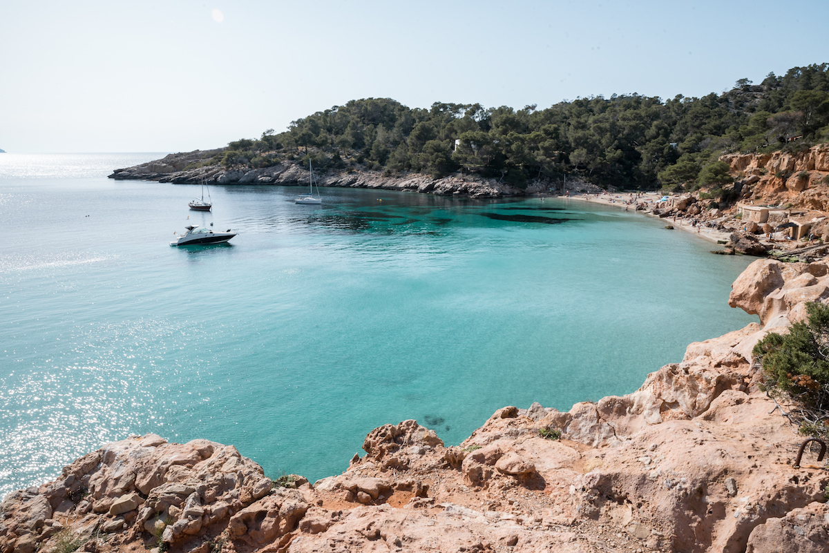 Cala Saladeta, Ibiza - by Ben Holbrook
