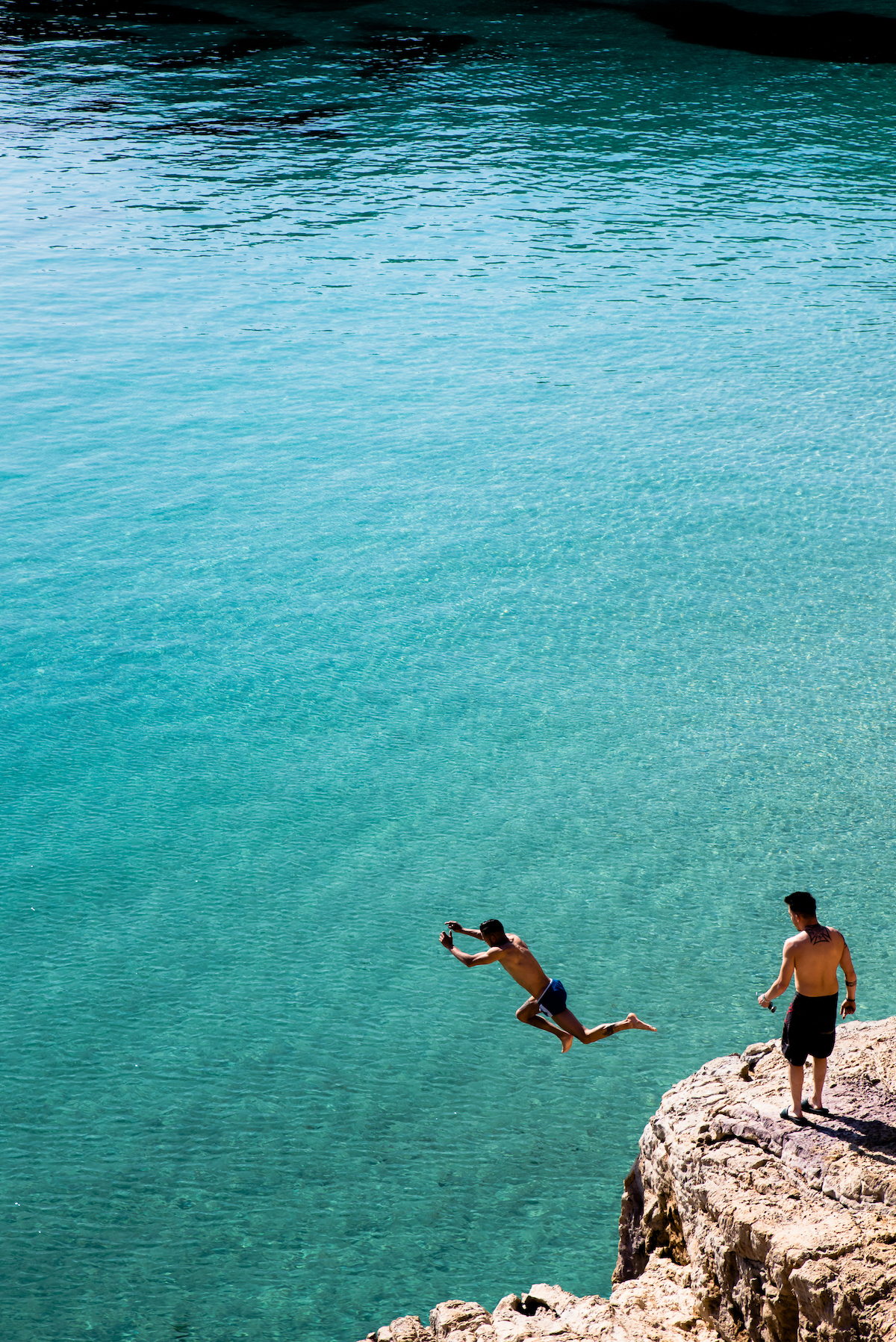 CalaSaladeta, Ibiza - by Ben Holbrook