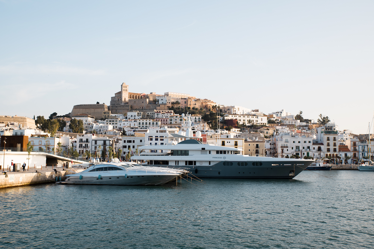 Ibiza Town Port - by Ben Holbrook