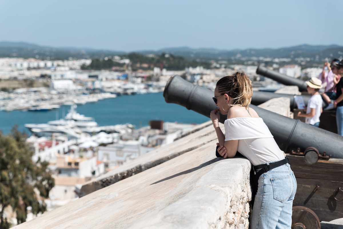 Ibiza Dalt Vila Old Town - by Ben Holbrook