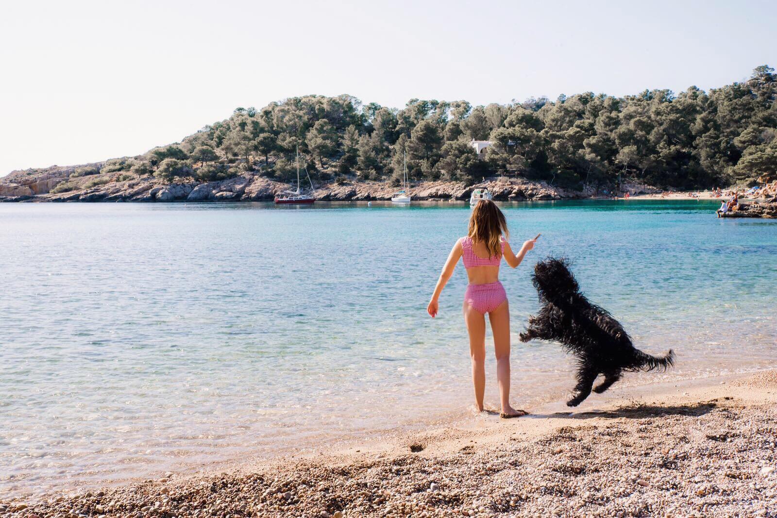 Playa Cala Xarraca, Ibiza - by Ben Holbrook