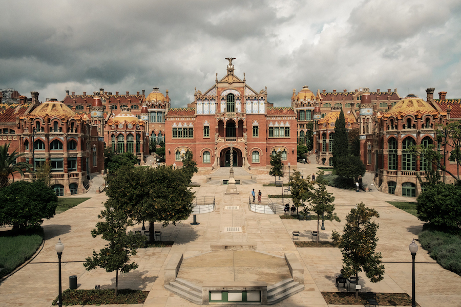 Hospital San Pau in Barcelona - by Ben Holbrook from DriftwoodJournals.com-9