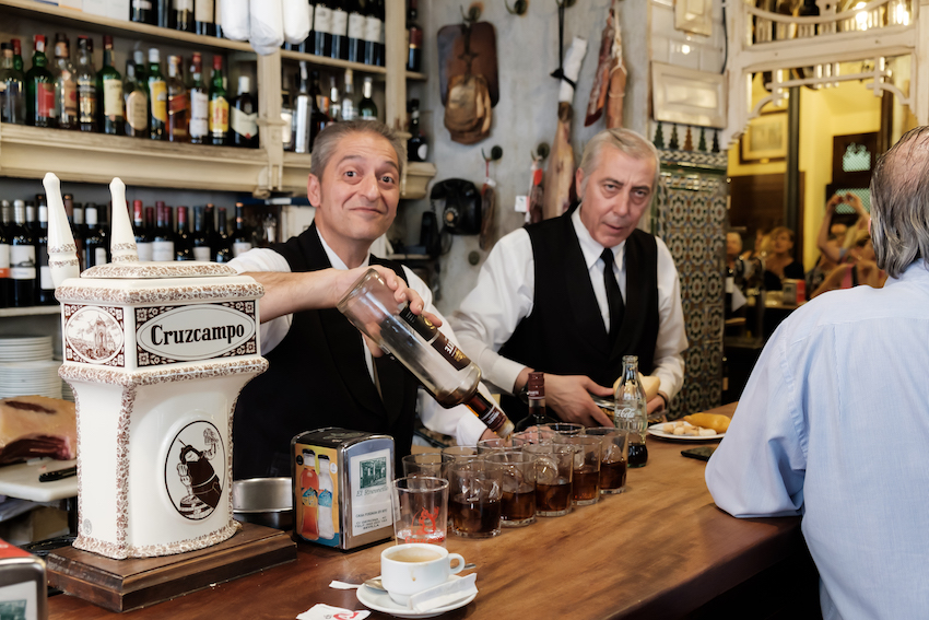El Rinconcillo - the oldest bar in Seville
