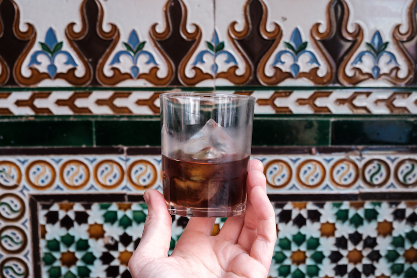 Vermouth at El Rinconcillo in Seville - Seville's oldest bar.