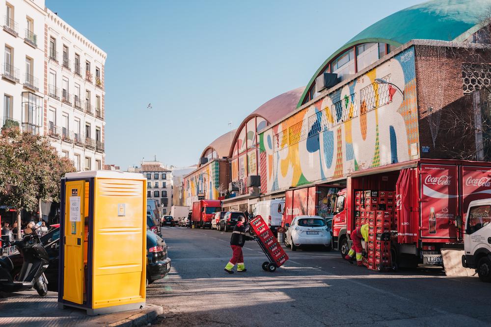 La Latina Market / Mercado de la Cebada Madrid