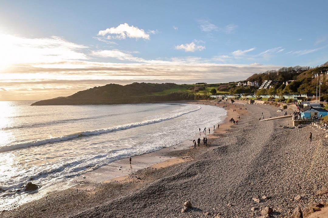 Langland Bay, Swansea - by Ben Holbrook