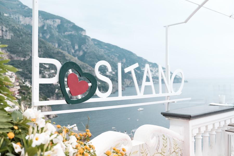 Positano - by Ben Holbrook