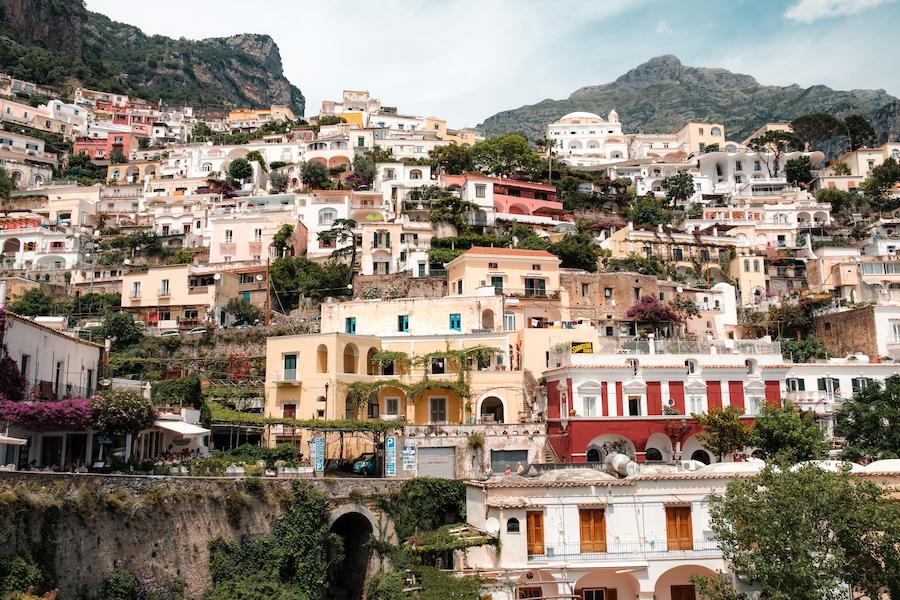 Positano cascades - by Ben Holbrook
