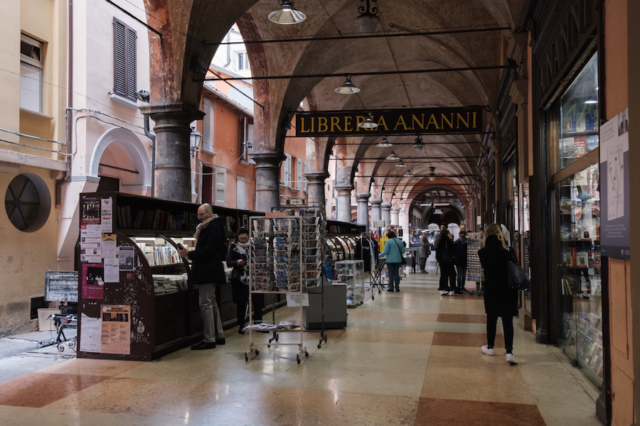 Bologna book shops, Italy Things to Do – Travel Photography by Ben Holbrook from DriftwoodJournals.com38