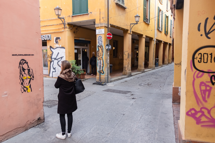 Bologna student area, Italy Things to Do – Travel Photography by Ben Holbrook from DriftwoodJournals.com1