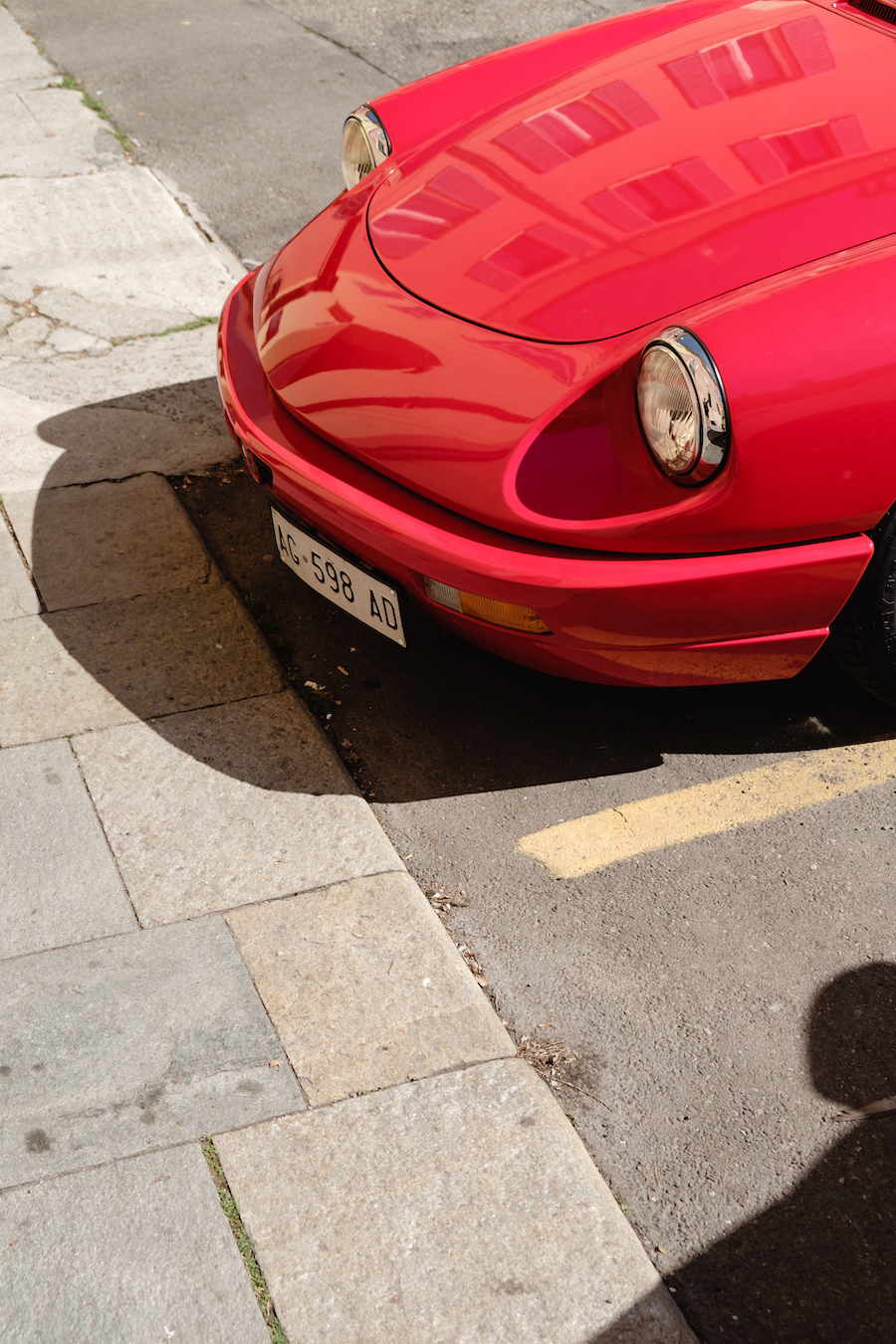 Vintage Alpha Romeo in Modena, Italy - Travel Photography by Ben Holbrook from DriftwoodJournals.com-4813