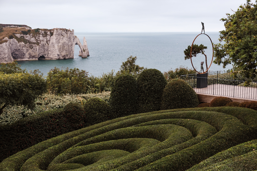 Etretat Gardens, Normandy - France Road Trip 2019 Travel and Street Photography by Ben Holbrook from DriftwoodJournals.com-3822