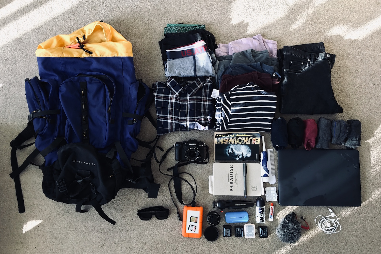 Minimalist Travel Packing List (One-Bag Carry-On-Only) - By Ben Holbrook from DriftwoodJournals.com