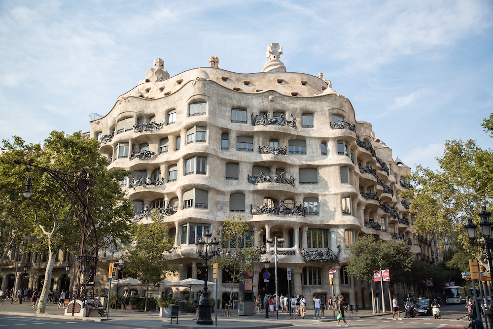 La Pedrera / Casa Mila Barcelona Travel and Street Photography by Ben Holbrook from DriftwoodJournals.com6
