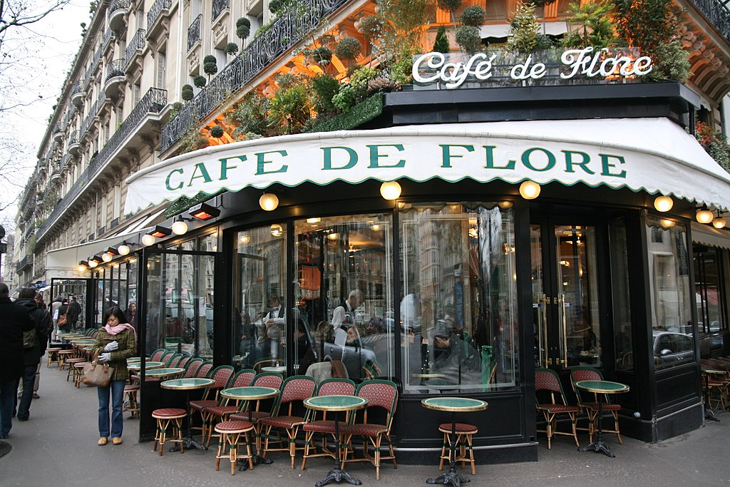 Cafe_de_Flore Literary Cafe Paris_France