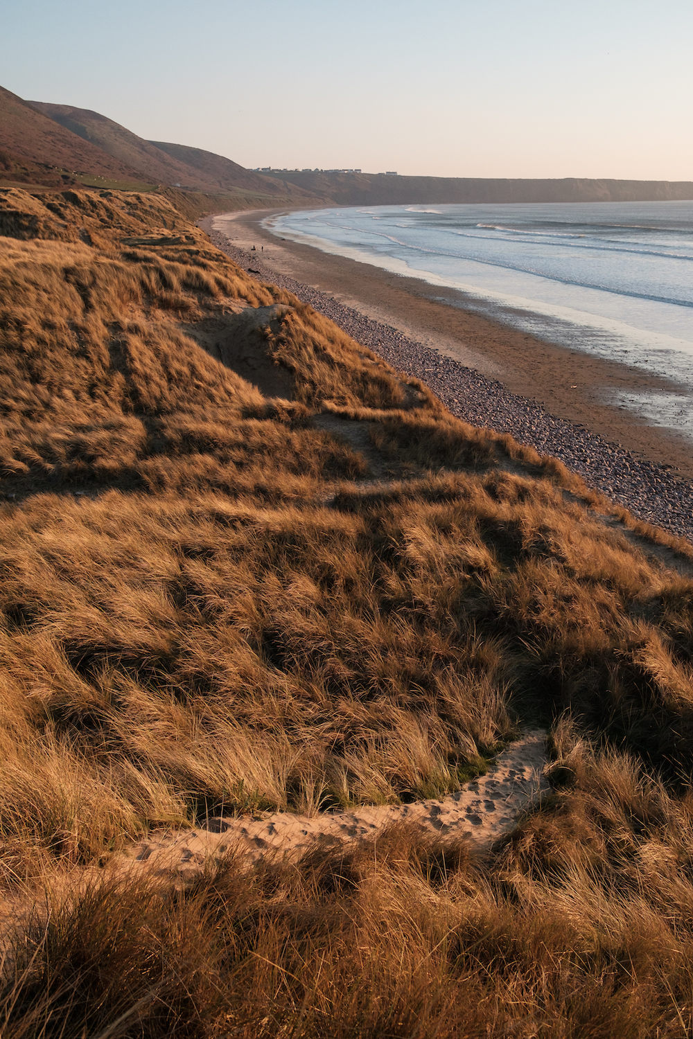 Llangennith Beach, Gower Peninsula South Wales, UK - Landscape Photography by Ben Holbrook-11