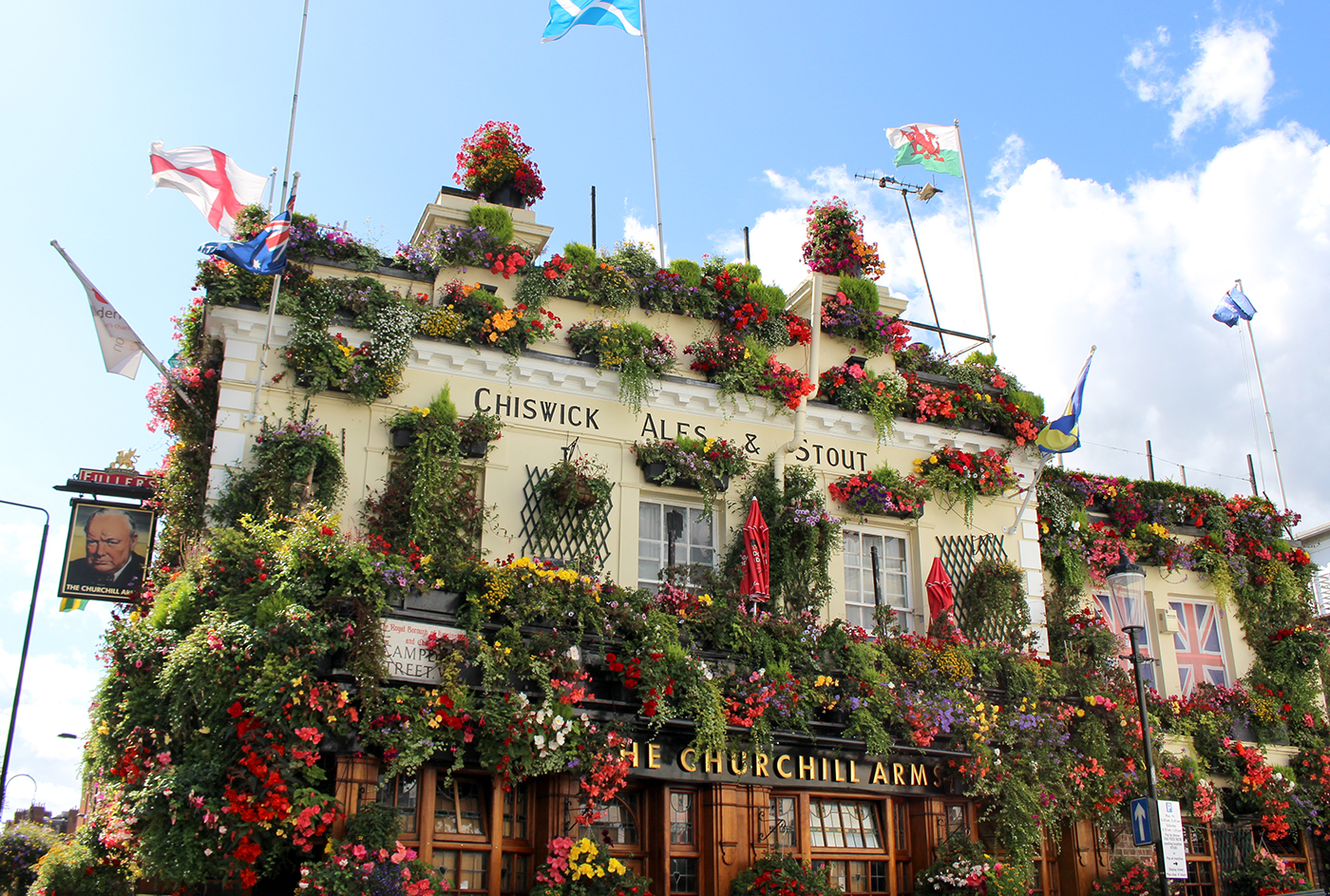 The Churchill Arms – London, England