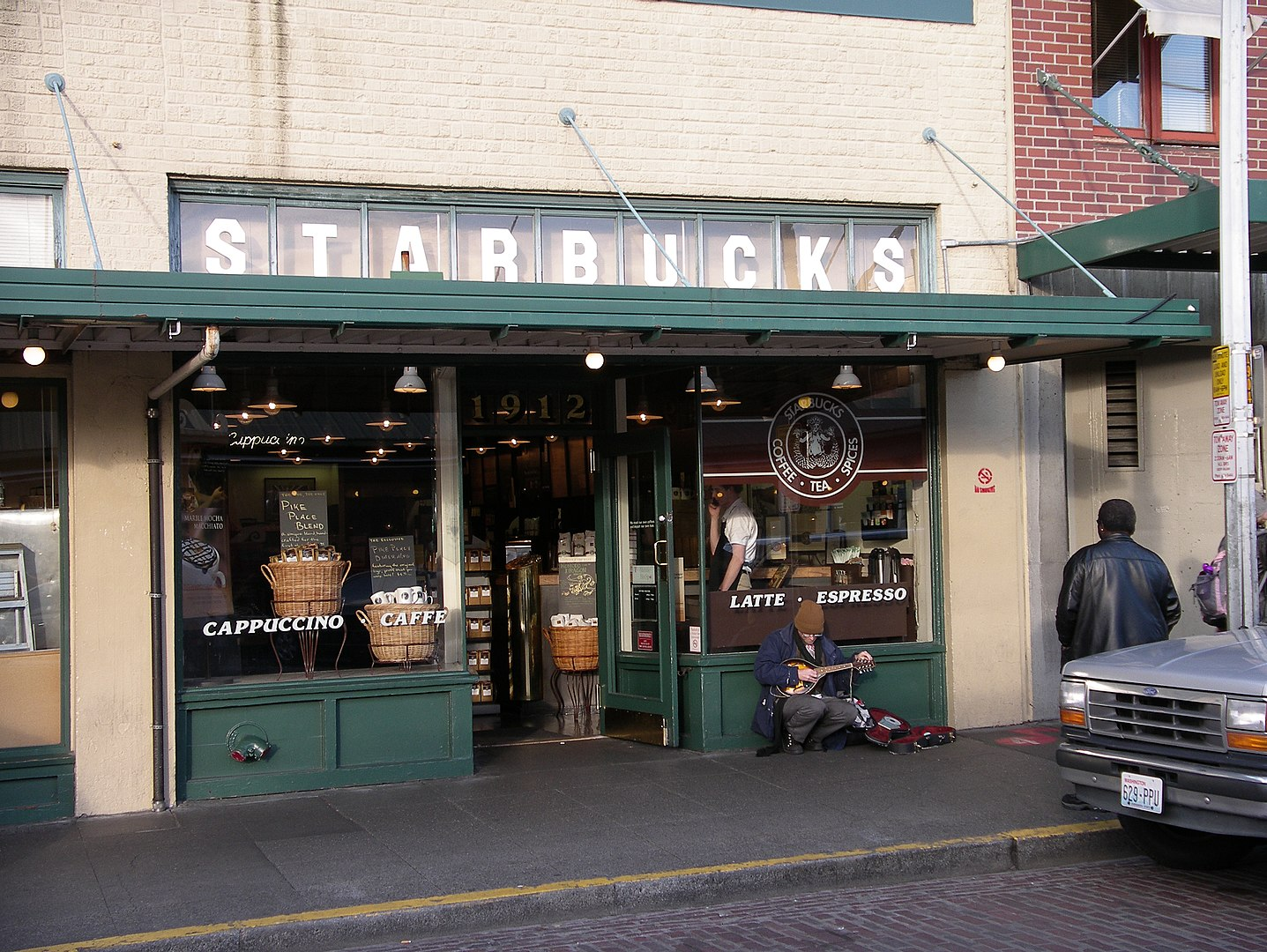 The First Ever Starbucks – Seattle, Washington