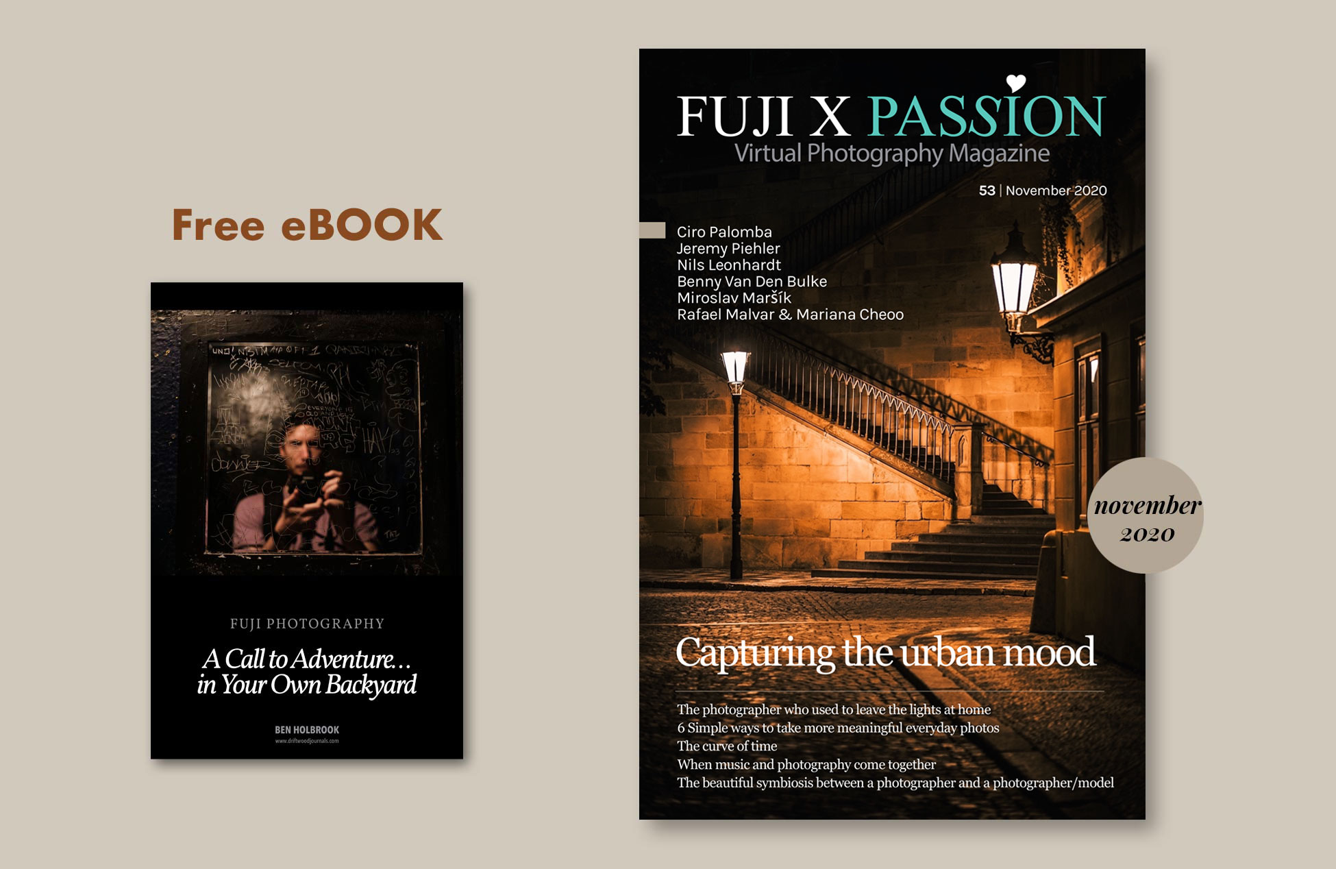 Fuji X Passion Ben Holbrook from Driftwood Journals